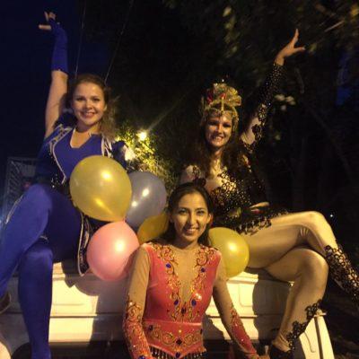 Вечерняя кавалькада по улицам Алматы прошла 2 августа