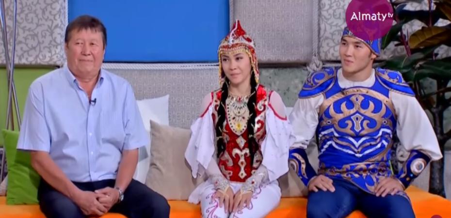 Программа «Күліп оян!», сюжет с участием артистов Казгосцирка