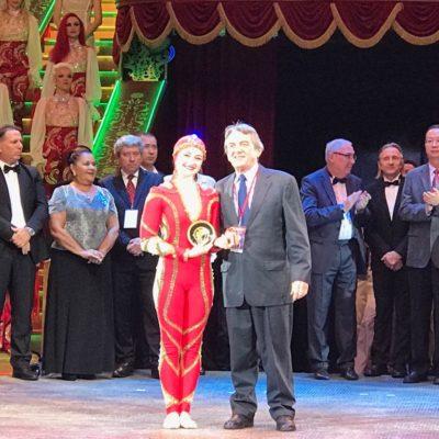 Анна Демидова награждена специальными призами 16-го Московского Международного молодёжного фестиваля-конкурса циркового искусства