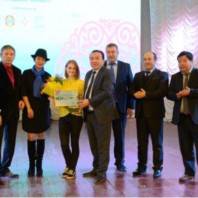 Золото «Шабыта» завоевала артистка  Казгосцирка Анна Демидова