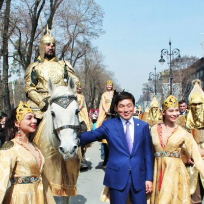 С 22 по 25 марта 2018 г. артисты Казахского государственного цирка приняли активное участие в основных праздничных мероприятиях «Наурыз-2018»