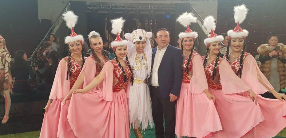 Успешно закончились гастроли коллектива Казахсого государственного цирка в городе Астана