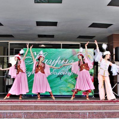 Наурыз мейрамы и Международный день Цирка отметили в  Казахском государственном цирке!