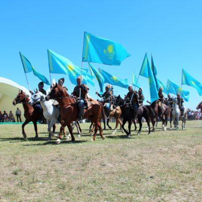 Артисты Казахского государственного цирка приняли участие в Международном этнофестивале «Ұлы дала — көшпенділер әлемі»