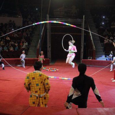 Балалар күніне цирктің тартуы