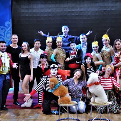 Қазақ мемлекеттік циркі артистерінің Талдықорған қаласындағы алғашқы гастролі