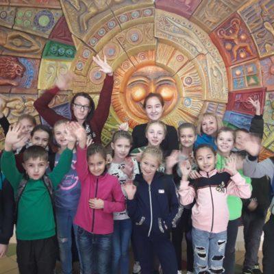 Ребята из цирковых студий города Лисаковска посетили  Казахский государственный цирк