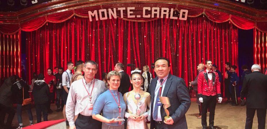 Серебряная награда в Монте-Карло!